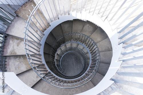 Fototapety, obrazy: 螺旋階段