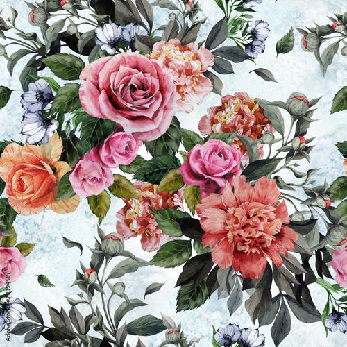 bezszwowy-kwiecisty-wzor-z-czerwonymi-i-rozowymi-rozami-i-peoniami