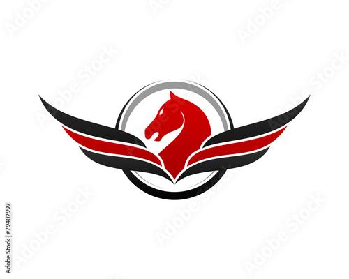 Photo  Pegasus Flying Horse
