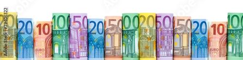 Carta da parati  Euro Geldscheine als Hintergrund