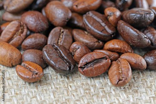 Fotobehang Koffiebonen ブレンドコーヒー豆
