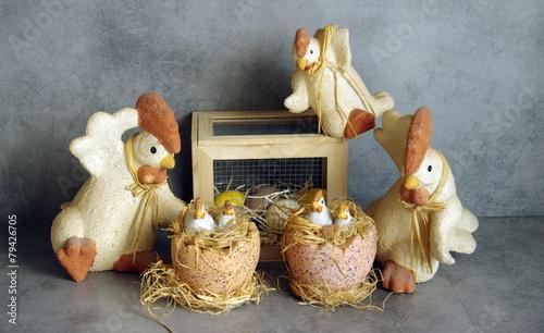 Valokuvatapetti fête de pâques