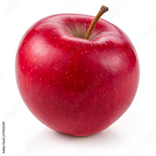 Fototapeta Jabłko  fresh-red-apple-isolated-on-white