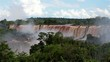 Iguassu Falls, the largest series of waterfalls of the world