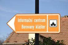Wegweiser Sehenswürdigkeit Tschechien