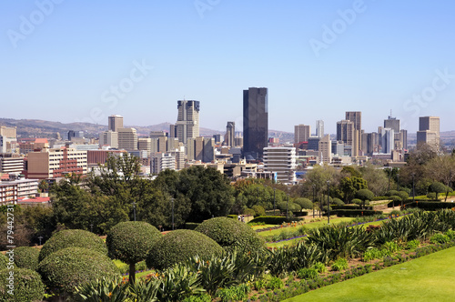 Poster Afrique du Sud City of Pretoria Skyline, South Africa