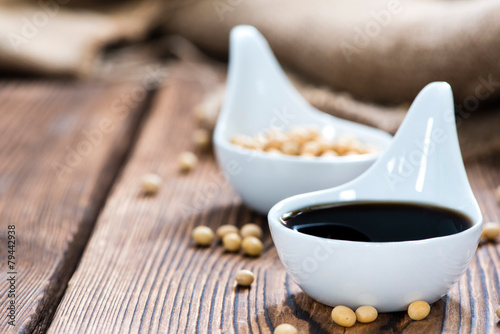 Portion of Soy Sauce