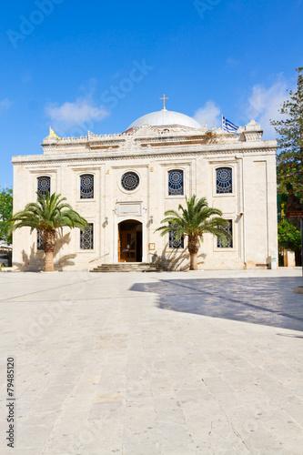Fotomural basilica of St Titus, Heraklion, Greece