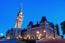 Canada Parliament Building In ...