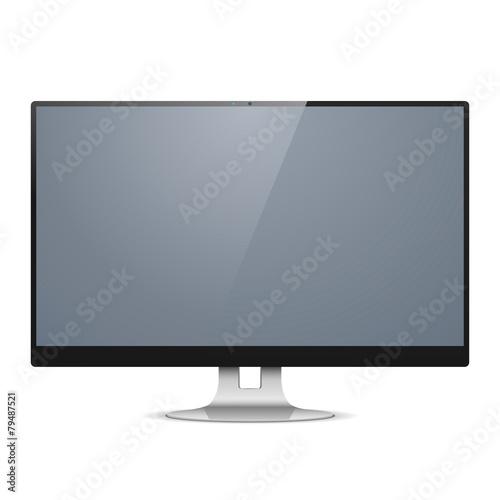 Fotografie, Obraz  Vector Computer Monitor