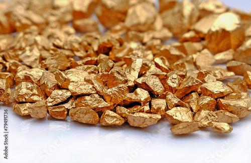 Fotografia, Obraz  gold stone