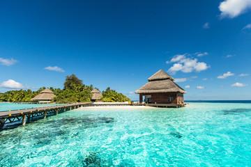 Beach Villas na małej tropikalnej wyspie