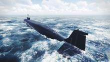 Russian Borei Class Submarine ...