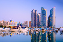 Busan, South Korea Cityscape I...
