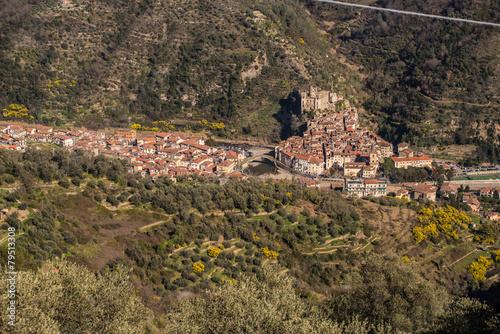 Fotografie, Obraz  Veduta di Dolceacqua