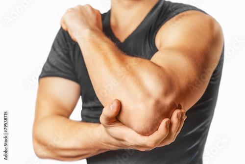 Fotografía  Pain in an elbow joint