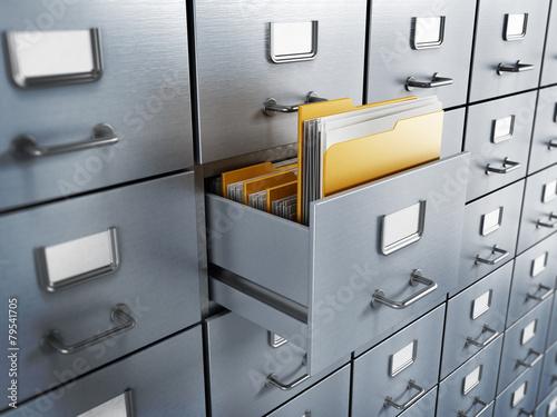 Fotografía  Filing cabinet