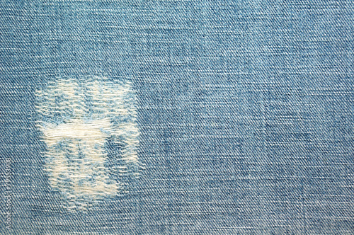 Fotobehang Stof Jean inside texture