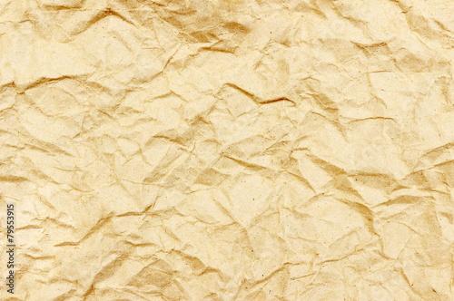 Fotografia, Obraz  The crumpled paper for background
