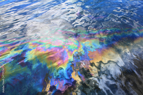 Fotografija  Oil spill in Pearl Harbor