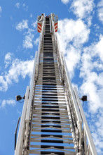 Fire Truck Ladder Leading Up I...