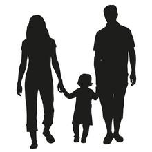 Family Vector Silhouette