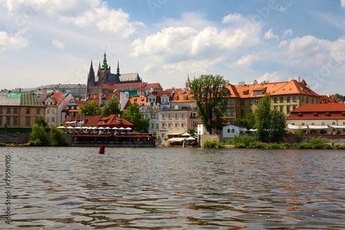 Photo  Historic Prague Riverside