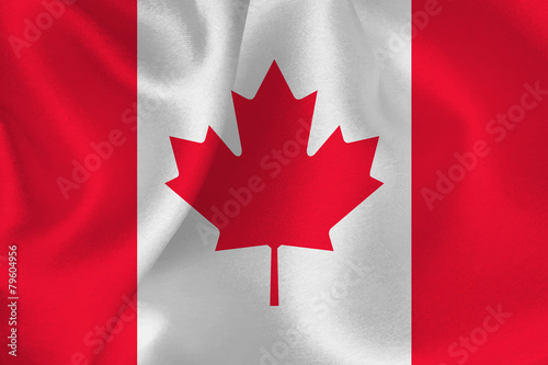 Fotografia カナダ  国旗 旗