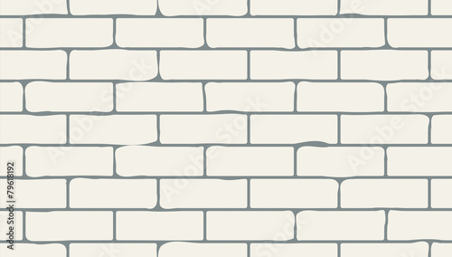 Bricks seamless texture Canvas Print