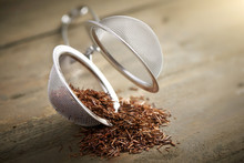 Tea Strainer With Rooibos Tea