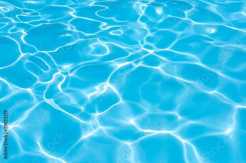 Fotografie, Obraz  Bright povrchová voda v bazénu