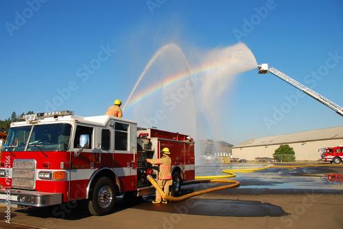 Fotografia, Obraz Heavy Streams