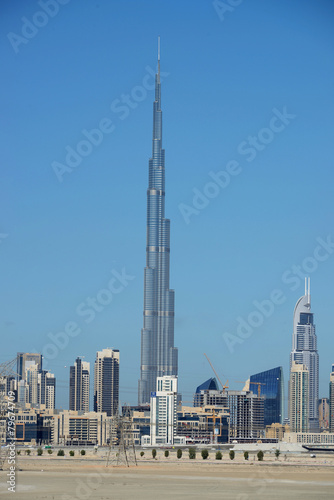 Fotografie, Obraz  Skyline of Dubai