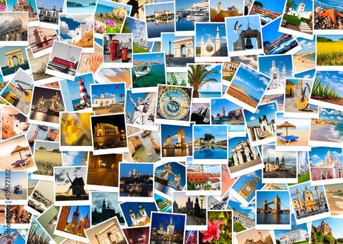 Travel In Europe Collage Buy This Stock Photo And Explore Similar Images At Adobe Stock Adobe Stock