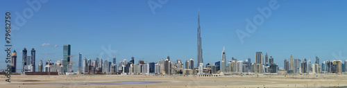 Skyline of Dubai Poster