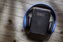 Bible And Headphones