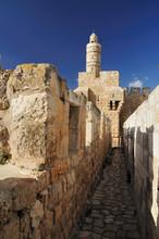 Jerusalem Old City. KIng David Citadel.