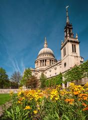 Fototapeta na wymiar St. Paul's Cathedral in London