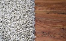 Two Part Split Image Of White ...