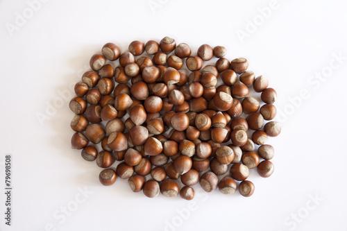 Wall Murals Coffee beans hazelnuts