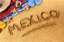Mexico Beach Writing