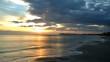 sole sorge dal mare a Riccione 1