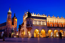 St. Mary's Church In Krakow At...