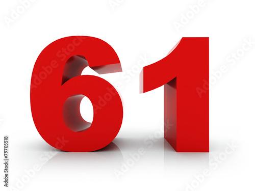 Tela  number 61