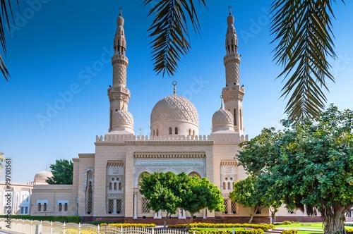 View of Jumeirah Mosque, Dubai Tableau sur Toile