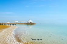 Israel, The Coast Of The Dead Sea
