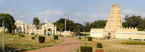 Cadres-photo bureau Palerme Sri Bhuvaneshwari temple close to Mysore palace