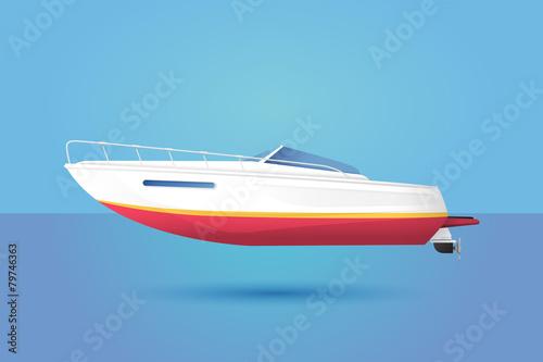 Fotografia Powerboat