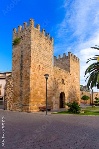 Papiers peints Con. Antique Alcudia Old Town Majorca Porta des Moll Mallorca