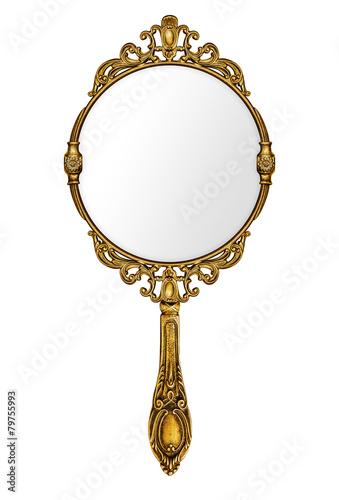 Fotografía  Vintage hand mirror